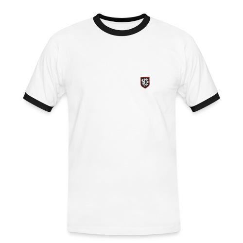 t-shirt division charlemagne - T-shirt contrasté Homme