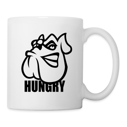 Tasse Hungry dog - Mug blanc