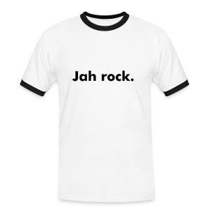 Jah rock tシャツ - Men's Ringer Shirt