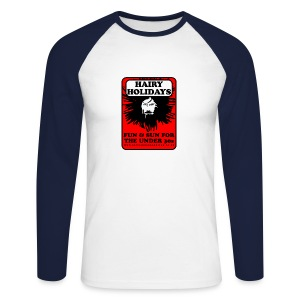 Hairy Holidays gent's baseball jersey - Men's Long Sleeve Baseball T-Shirt