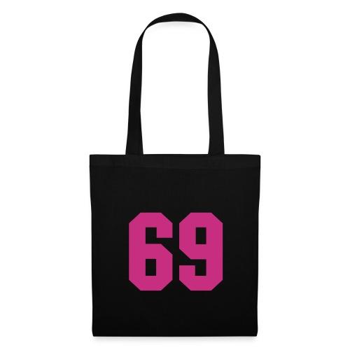 Sac en tissu noir - 69 - Tote Bag