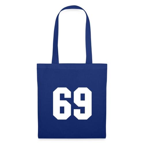 Sac en tissu bleu - 69 - Tote Bag