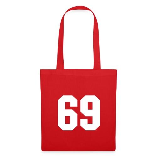 Sac en tissu rouge - 69 - Tote Bag