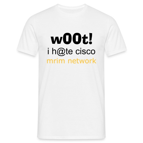 we hate cisco - T-shirt Homme