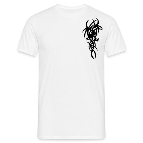 Hvit fantasy. - T-skjorte for menn