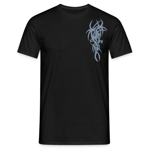 Sort fantasy. - T-skjorte for menn