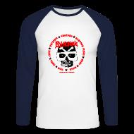 Long sleeve shirts ~ Men's Long Sleeve Baseball T-Shirt ~ Psychomania mens baseball top