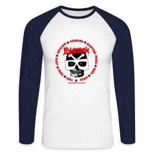 Psychomania mens baseball top - Men's Long Sleeve Baseball T-Shirt