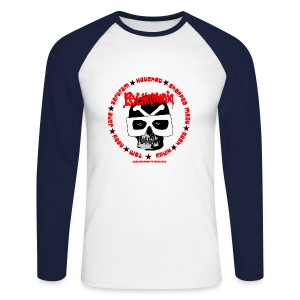Psychomania mens baseball top - Men's Long Sleeve Baseball T-Shirt