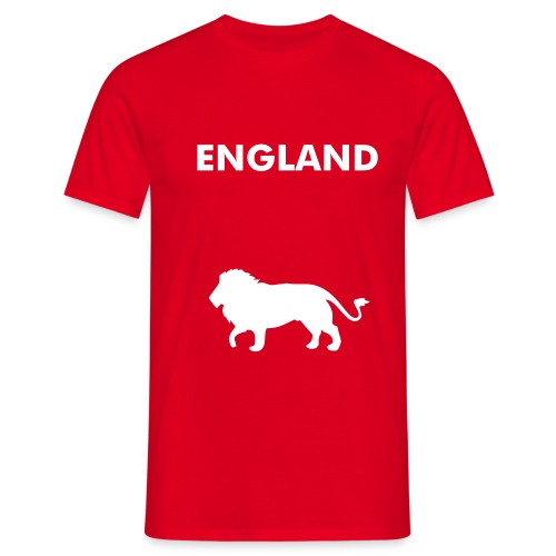 England - Three Lions - T-skjorte for menn