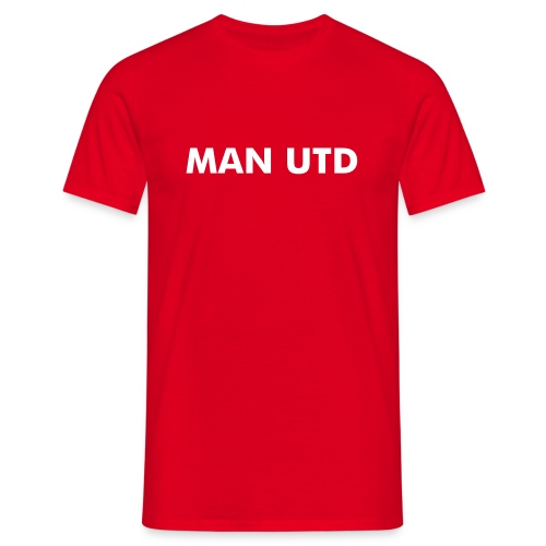 Man Utd - T-skjorte for menn