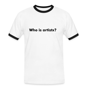 Who is artistx? - Men's Ringer Shirt