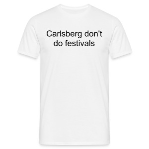 Carlsberg don't make festivals [[READING FEST SPECIAL]] - Men's T-Shirt