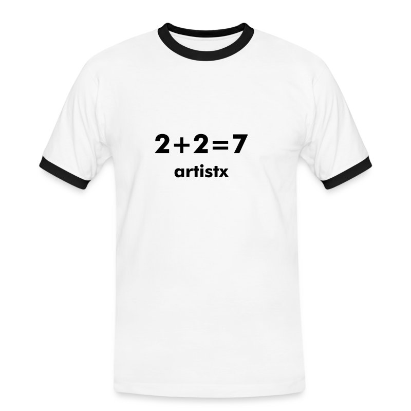 2+2=7 - Men's Ringer Shirt