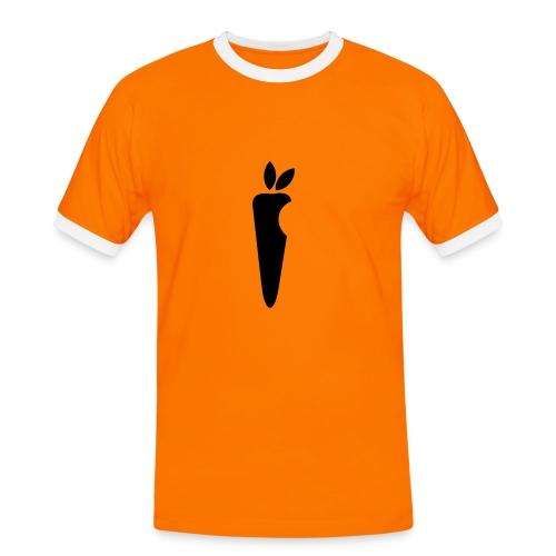 carrotapple - T-shirt contrasté Homme