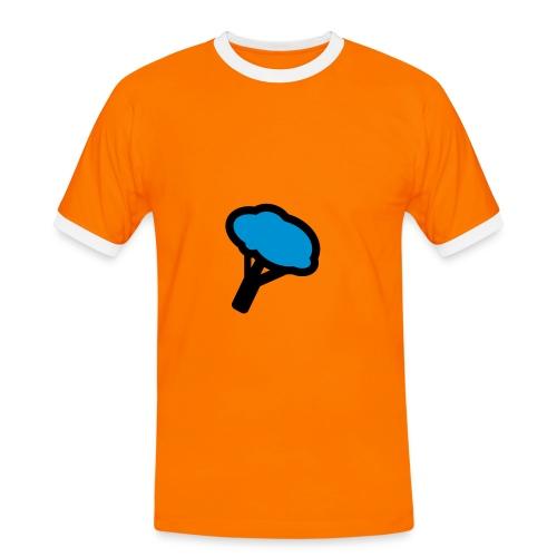 logo - T-shirt contrasté Homme