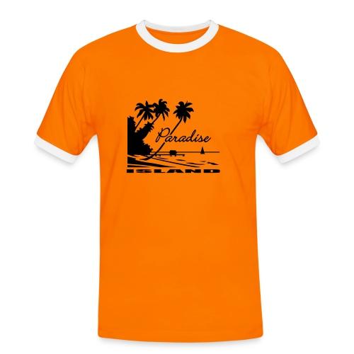 paradise - Mannen contrastshirt
