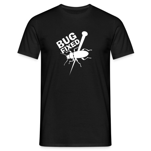 Bug fixed heren t-shirt - Mannen T-shirt