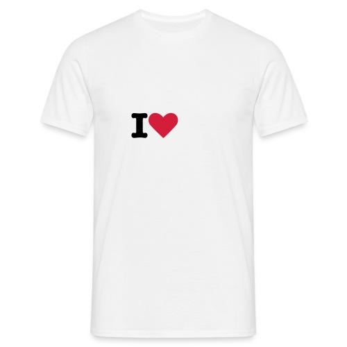 I LOVE OMA RAKKAASI - Miesten t-paita