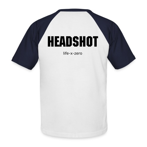shirt_headshot - Männer Baseball-T-Shirt
