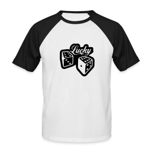 Lucky Tee Black - Men's Baseball T-Shirt