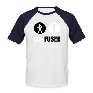 Confused Tee - Men's Baseball T-Shirt