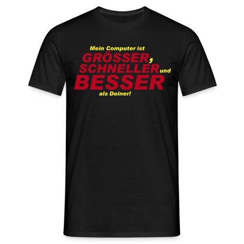Mein Computer - Männer T-Shirt