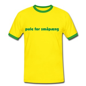 Pule for småpeng - Men's Ringer Shirt