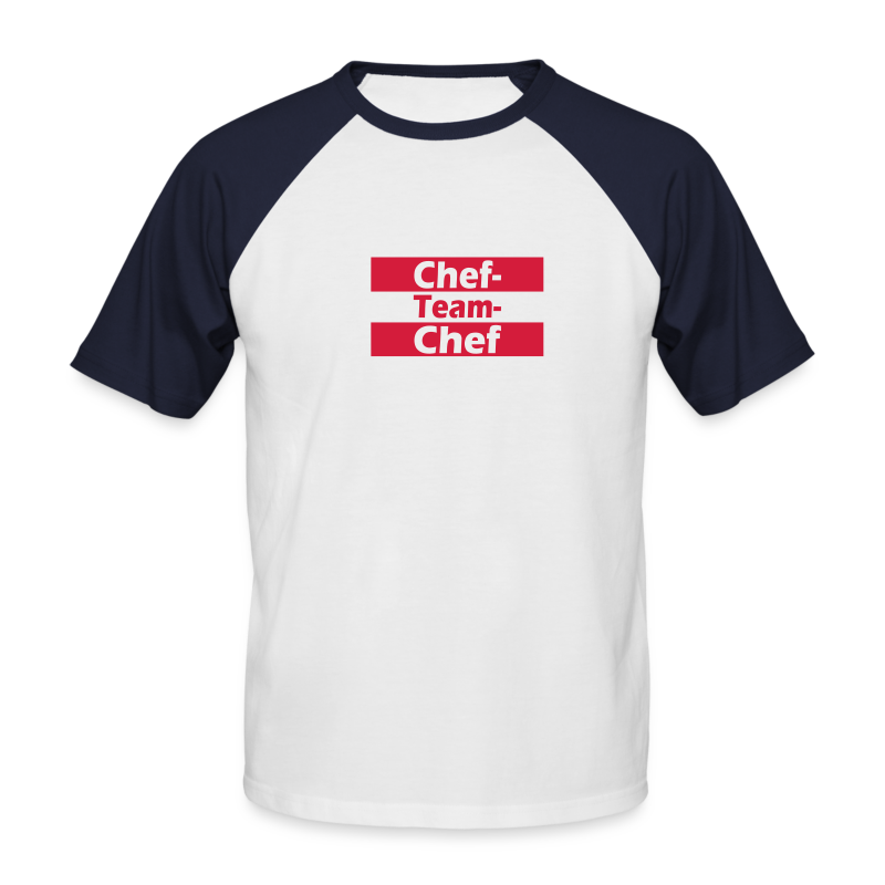 Chef Team Chef EM-Shirt - Männer Baseball-T-Shirt