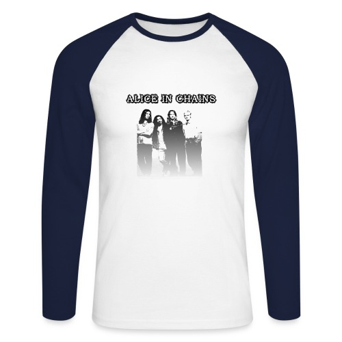 Alice In Chains Longsleeve - Men's Long Sleeve Baseball T-Shirt