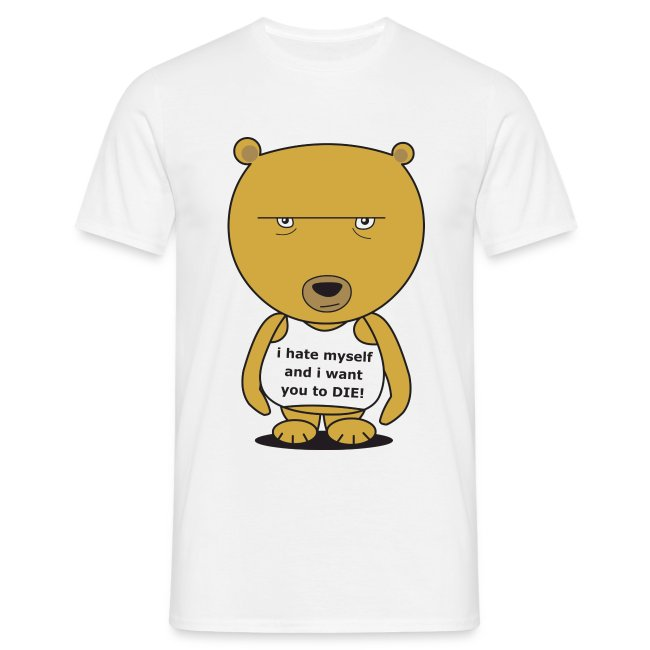 brian the neurotic bear - comfort (front)