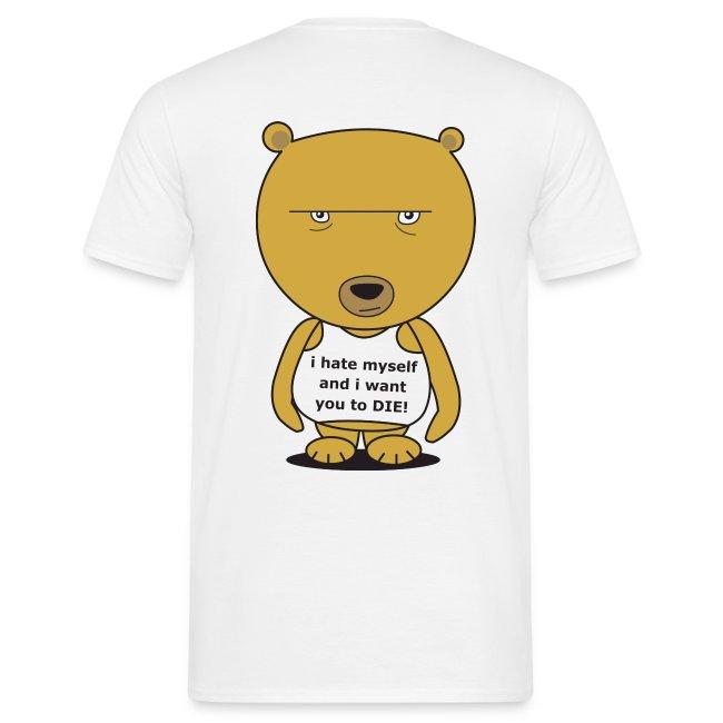 brian the neurotic bear - comfort (back)