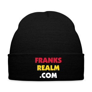 Frank's Realm black winter cap - Winter Hat