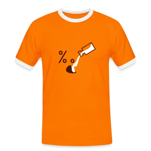 B1 - Männer Kontrast-T-Shirt