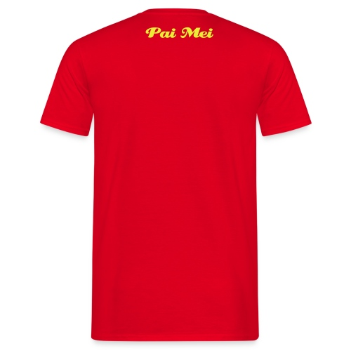 kill Bill Pai Mei t-shirt rot - Männer T-Shirt