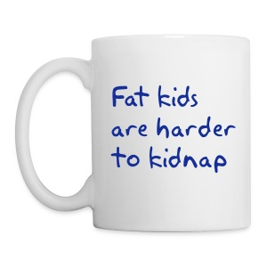 Fat Kids Mug Right-handed - Mug