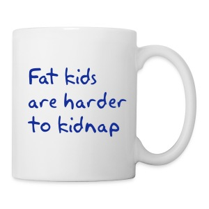 Fat Kids Mug Left-Handed - Mug