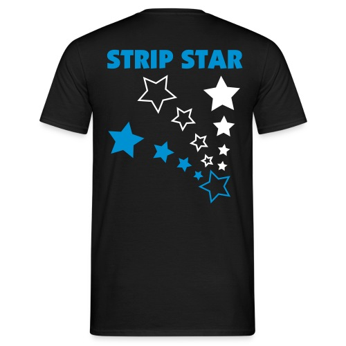 Strip Star B - Men's T-Shirt