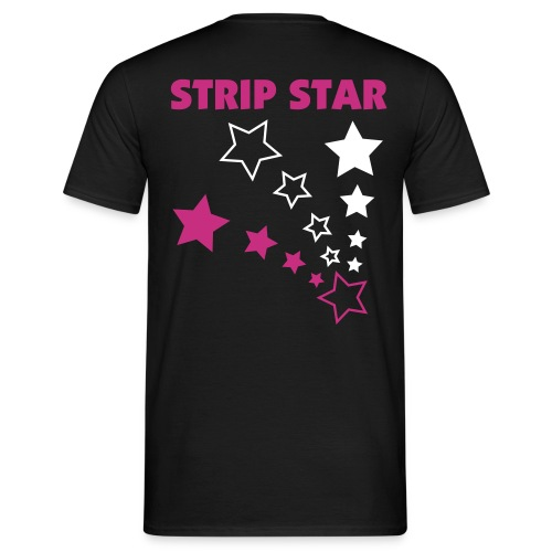 Strip Star V - Men's T-Shirt