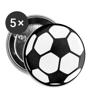 FOOTBALL BADGES (Small) - Buttons small 25 mm