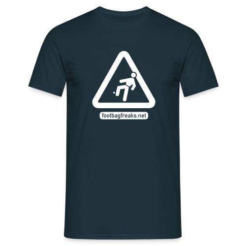 Footbag Freaks Club-Shirt - Männer T-Shirt