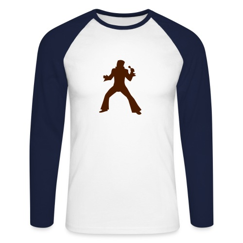 ROCKER SHIRT - Men's Long Sleeve Baseball T-Shirt
