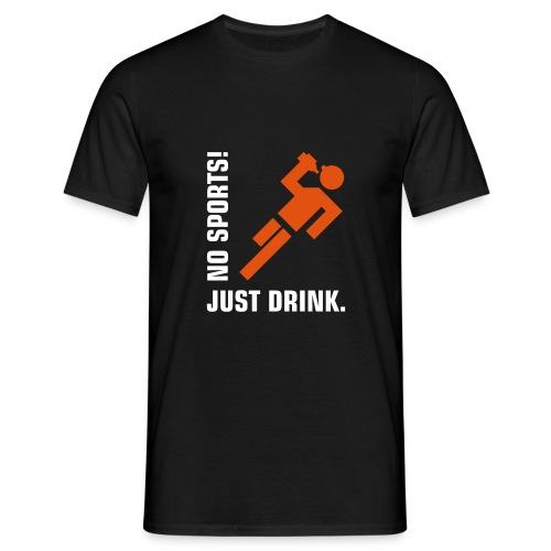 no sport - Miesten t-paita