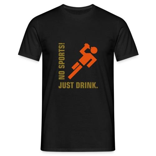 no sport2 - Miesten t-paita