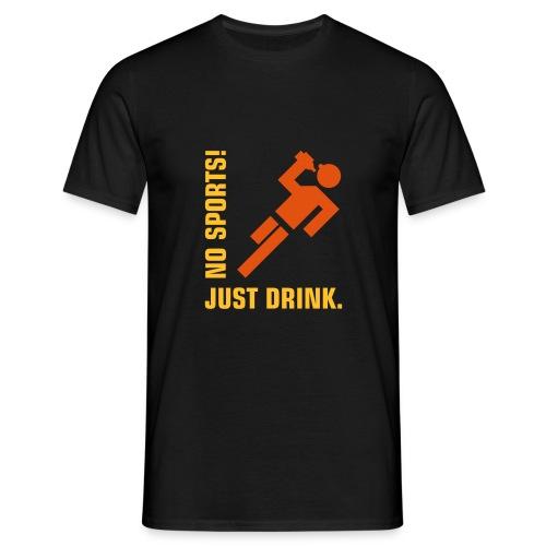no sport3 - Miesten t-paita
