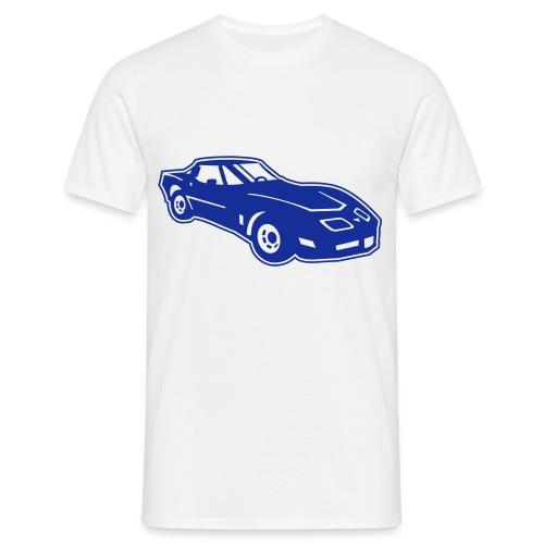 hotcar-racing-valkoinen - Miesten t-paita