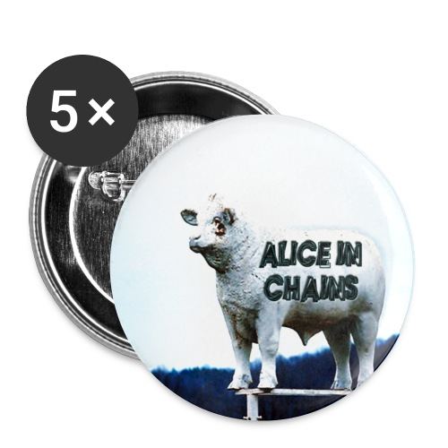 Alice In Chains Badge - Buttons small 25 mm