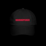 Caps & Mützen ~ Baseballkappe ~ Raubkopierer - Cap schwarz