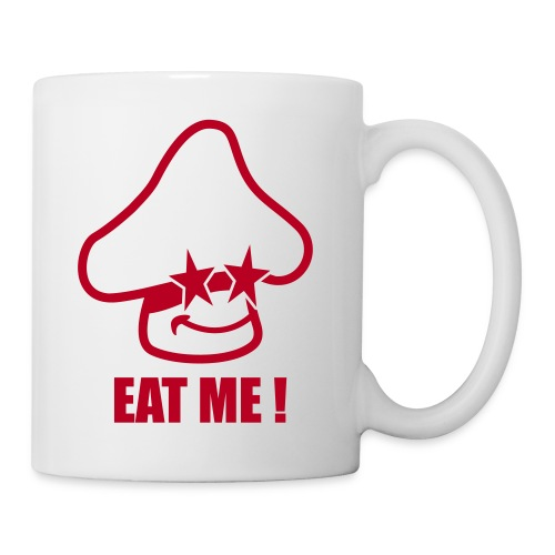 eat my - Mug blanc