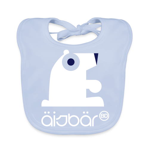 BD Icebear Baby Bib - Baby Bio-Lätzchen